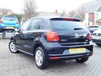 2016 Volkswagen Polo 1.0 BlueMotion Tech Match (s/s) 5dr Hatchback Petrol Manual