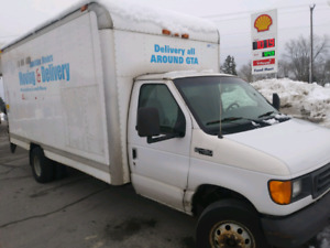 2004 Ford E450 with POWER LIFTGATE!!! 6.0 L Diesel 16ft cube tru
