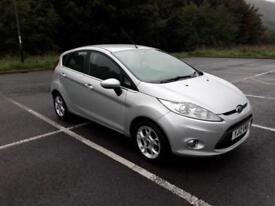 FORD FIESTA 1.4 DIESEL ZETEC 5 DOOR £20 A YEAR ROAD TAX