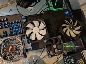 Variety of PC Fans