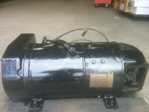 DC GENERATOR 230 V COUPLED WITH 3 PHASE ELECTRIC MOTOR (5 H.P.)