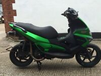 2009 Gilera Runner 125cc with 200cc motor. Lots of extras.
