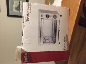 Brand new 6 slice toaster oven