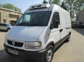 2003 Vauxhall Movano 2.2DTi MWB diesel High Roof 3.5t 1owner pas sld