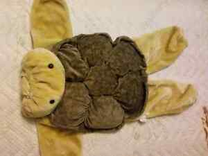 Plush turtle costume