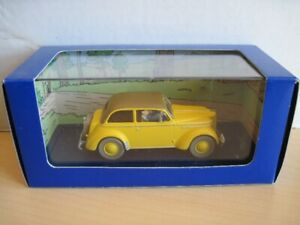 Tintin en voiture, L'Opel Olympia Cabriolet , no. 19 , neuf