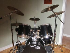 5 piece with sabians