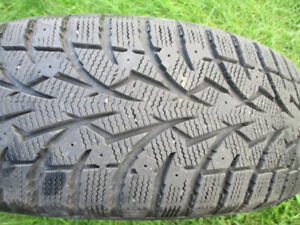 WINTER TIRES   185 /65 /15  TOYOT  LIKE NEW