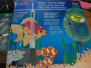 Brand new fish filter in box