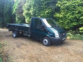 Ford transit T350 140bhp lwb 14ft alloy drop sider