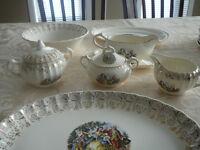 set de vaisselle varié