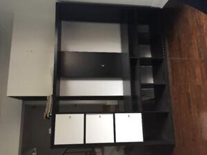 Ikea tv unit/ tv furniture/ tv cabinet/ meuble pour télévision