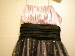Beautiful purple and black womens size 8 dress London Ontario image 2
