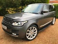 "LAND ROVER RANGE ROVER 3.0 SDV6 2014MY VOGUE PANORAMIC ROOF 22"" ALLOYS"