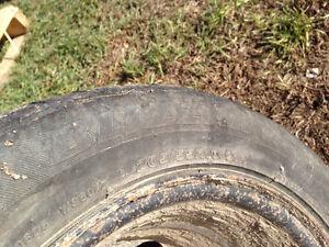 """Set of 4 - 16"""" Steel Rims & Wheel Covers Regina Regina Area image 4"""