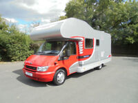 Dethleffs Fortero 6 Berth LOW MILEAGE Family Motorhome For Sale