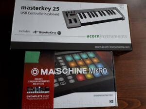 Maschine Mikro MK2 Workstation + Acorn MIDI Keyboard 25