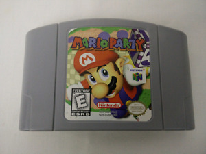 Mario Party , N64, mint cartridge   plays great.