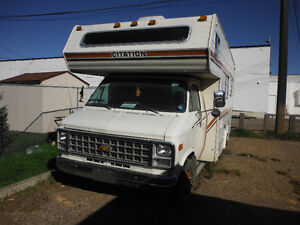 ' 82 CHEVY CiTATiON MOTOR HOME FOR SALE