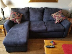 Perfect Suede sectional 500 obo