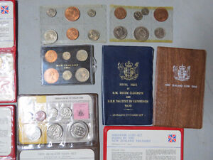 For Sale; New Zealand Coin Sets