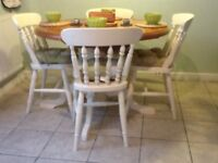 Pine farmhouse dining table ( NO CHAIRS )