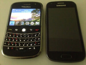 Blackberry Bold & Samsung ACEII-S7560 for sale