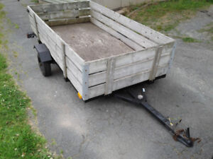 utility trailer 4ft by 8ft