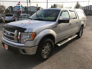 2010 Ford F-150 SuperCrew LARIAT 4X4....LOADED...EXCELLENT COND.