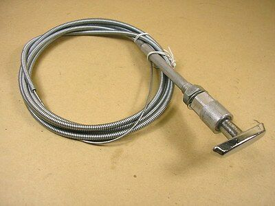 """Universal Hood Release Cable 96"""", C509255RPS"""