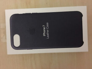 iphone 7 leather case midnight blue brand new