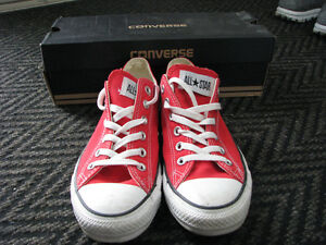 Red Converse New Condition -  Men's Size 8