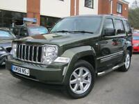 2008 58-Reg Jeep Cherokee 2.8CRD auto Limited,GEN 60,000 MILES,RARE JEEP GREEN!!