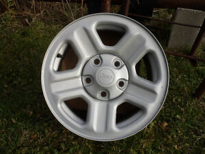 """2 New Jeep Wrangler 16"""" Rims with Sensors $50 ea. $75 for both"""