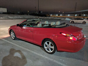 2006 Toyota Solara SLE convertible leather interior Convertible