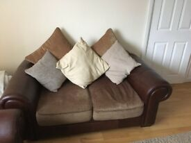 2sofas for £250 or 1 sofa for £80 each