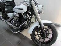 2013 YAMAHA XVS950 MIDNIGHT STAR EXCELLENT BIKE WITH PANNIERS AND BACKREST