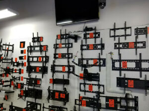 TV WALL MOUNTS , FLAT, TILTING, CEILING, FULL MOTION MOUNTS
