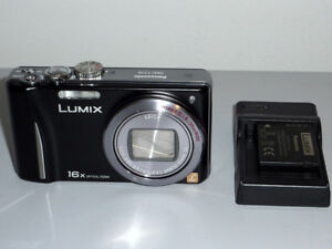 Panasonic ZS8 with14.1mp and capable of 1080 i video.
