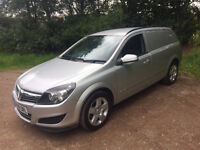 VAUXHALL ASTRA VAN MK5 H 1.9CDTI 6 SPEED MANUAL SILVER 2009 LOW MILEGE