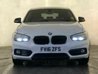 2016 BMW 118D SPORT SAT NAV PARKING SENSORS HEATED SEATS 1 OWNER SERVICE HISTORY