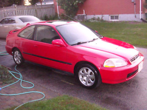 1998 Honda Civic Si - In Great Shape - Winter and Summer Tires.