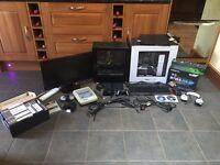 Gaming PC, Super Nintendo, PlayStation 2, Gaming monitor all for £600