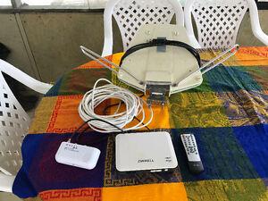 Antenne TV et recepteur