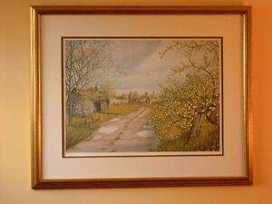 Peter Robson, Sparta, Elgin Co., Artist Prf., Spring Blossoms London Ontario image 2