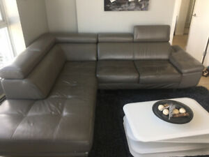 Selling beautiful, leather sofa in excellent condition-$1500 OBO