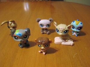 LITTLEST PET SHOP LOT #23 dalmatian dog bear chipmunk bug rabbit