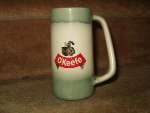 OKEEFE BEER MUG, CHOPE DE BIERE  ANTIQUE