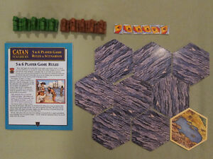 The Seafarers of Catan 5-6 Player Expansion 3rd Edition