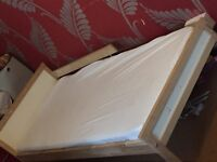 IKEA Sinclair Todd bed with mattress £35